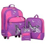 Kindertrolley 3er Set lilac