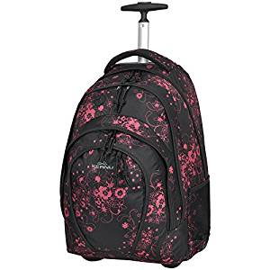 schultrolley 33L valensia black pink